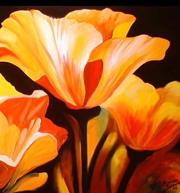 Art: PRETTY POPPY by Artist Marcia Baldwin