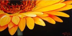 Art: Gerber Daisy Two by Artist Marcia Baldwin