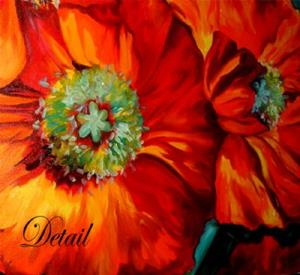 Detail Image for art Poppy Ring of Fire