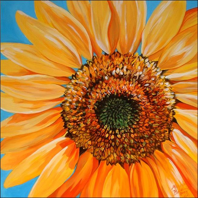 Art: Sunshine by Artist Marcia Baldwin