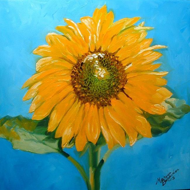 Art: SUNFLOWER FAITH by Artist Marcia Baldwin