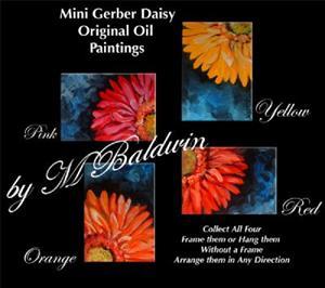 Detail Image for art Mini Gerber Red