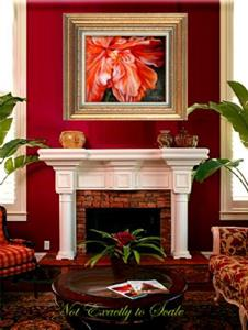 Detail Image for art HIBISCUS RED