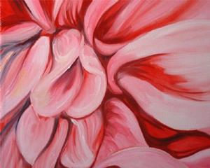 Detail Image for art A PINK DAHLIA