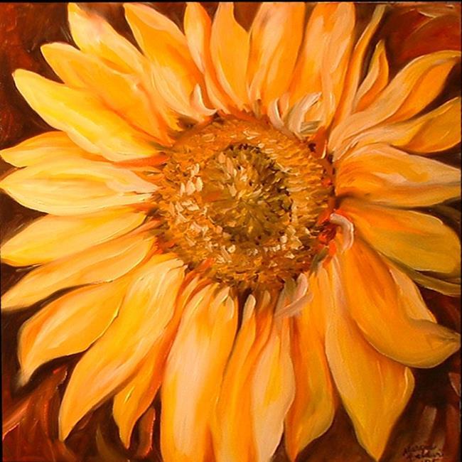 Art: TUSCANY SUNFLOWER by Artist Marcia Baldwin