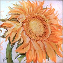 Art: SUNNY DAY SUNFLOWER by Artist Marcia Baldwin