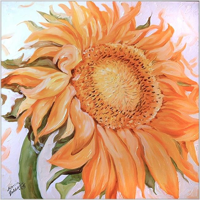 Art: SUNNY DAY SUNFLOWER by Artist Marcia Baldwin
