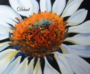 Detail Image for art White Coneflower