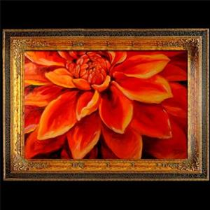 Detail Image for art The Red Dahlia