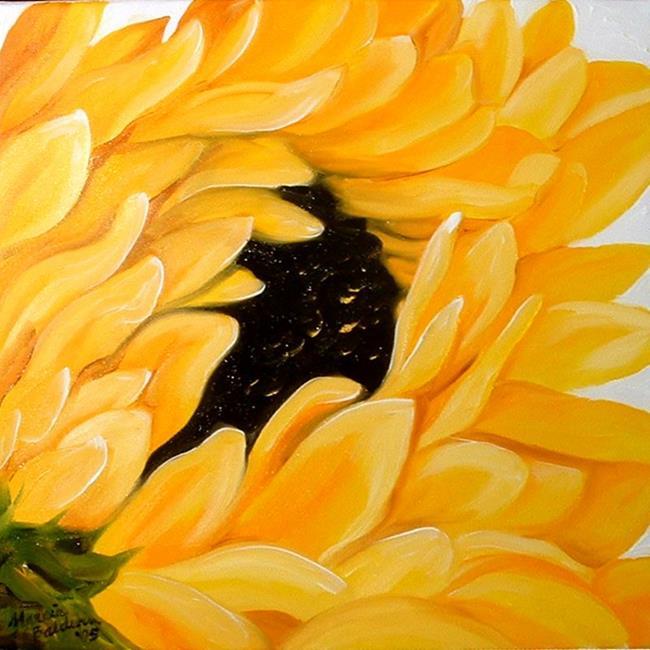 Art: Sunflower Single by Artist Marcia Baldwin