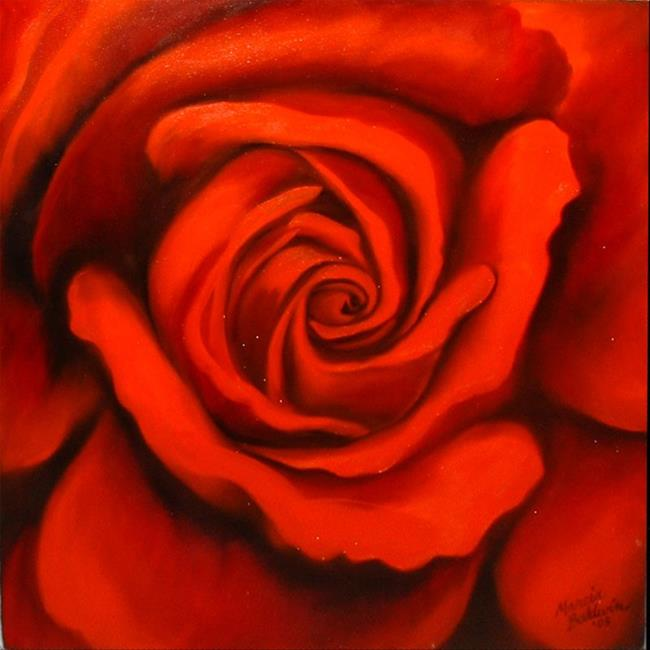 Red Rose Canvas Painting