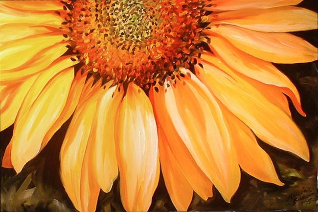 Art: A LITTLE BIT OF SUNSHINE by Artist Marcia Baldwin
