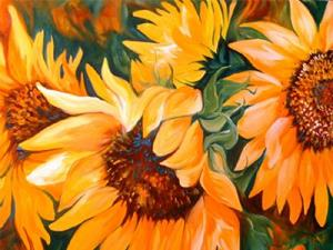 Detail Image for art THE SUNFLOWERS