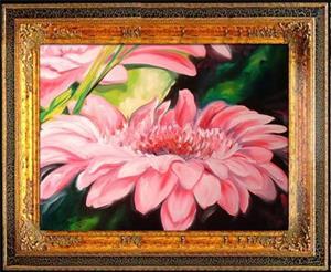 Detail Image for art PINK GERBERA DAISIES
