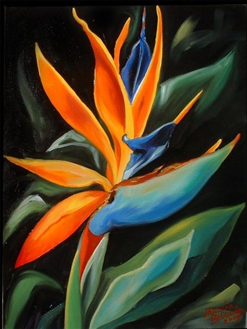 Art: Bird of Paradise by Artist Marcia Baldwin