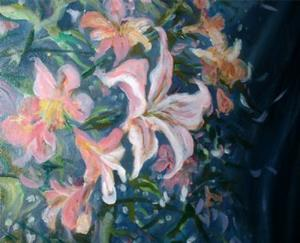 Detail Image for art Lillies and Lace