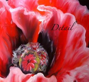 Detail Image for art ORIENTAL POPPY