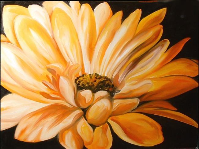 Art: The Yellow Daisy by Artist Marcia Baldwin