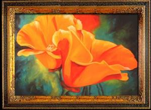 Detail Image for art California Poppies A'Glow