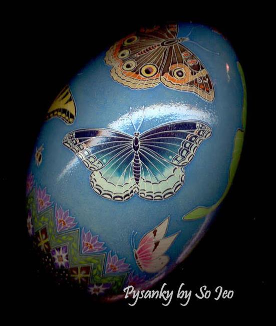 Art: Etsy Butterfly Rhea Red Spotted Purple.jpg by Artist So Jeo LeBlond