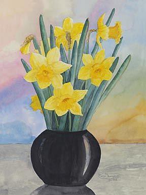 Art: Spring Bouquet by Artist Carol Thompson