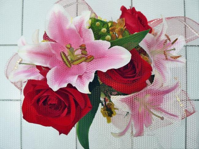 Art: Bouquet by Artist Deanne Flouton