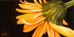 Art: Gerber Daisy One by Artist Marcia Baldwin