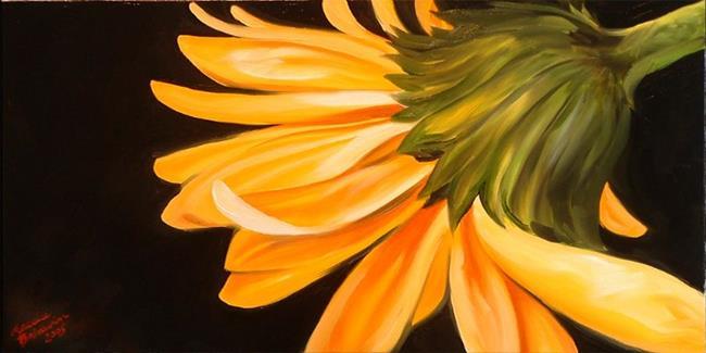 Art: Gerber Daisy One by Artist Marcia Baldwin