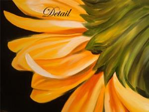 Detail Image for art Gerber Daisy One