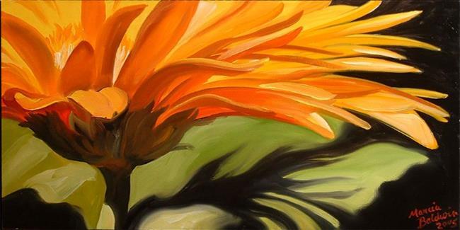 Art: Gerber Daisy Three by Artist Marcia Baldwin