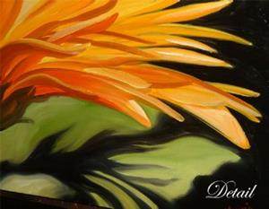 Detail Image for art Gerber Daisy Three