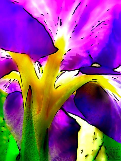 Art: Stained Glass  by Artist Deanne Flouton