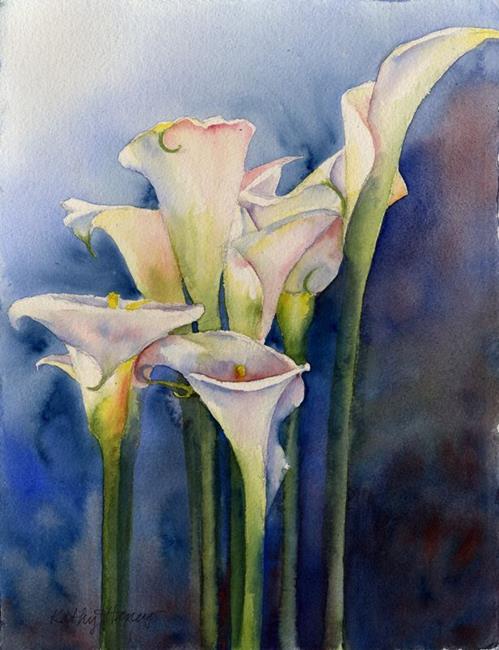 Art: Callas SOLD by Artist Kathy Haney
