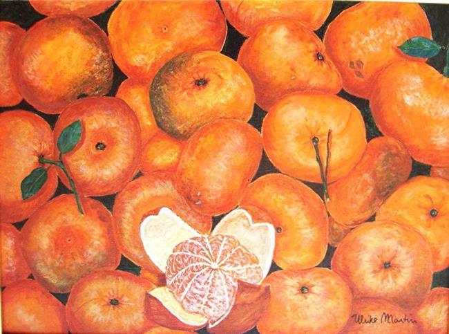 Art: Juicy Mandarines by Artist Ulrike 'Ricky' Martin