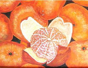 Detail Image for art Juicy Mandarines