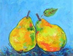 Art: Pears by Artist Ulrike 'Ricky' Martin