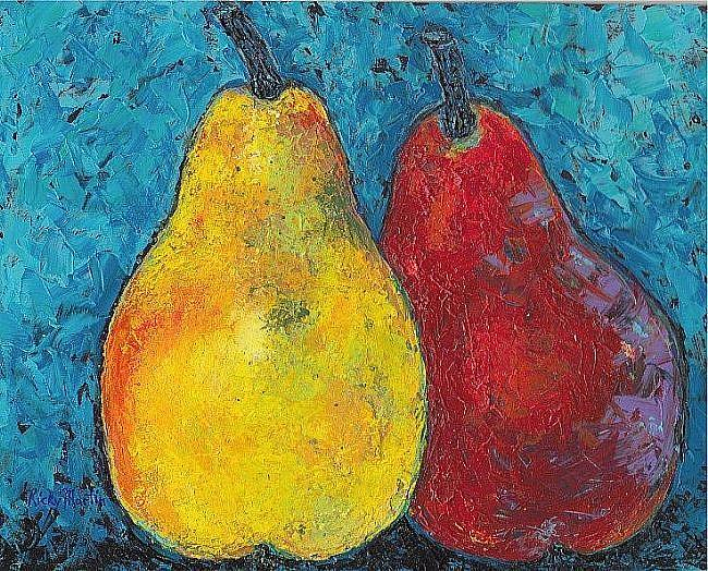 Art: Pair of Pears  ( sold) by Artist Ulrike 'Ricky' Martin