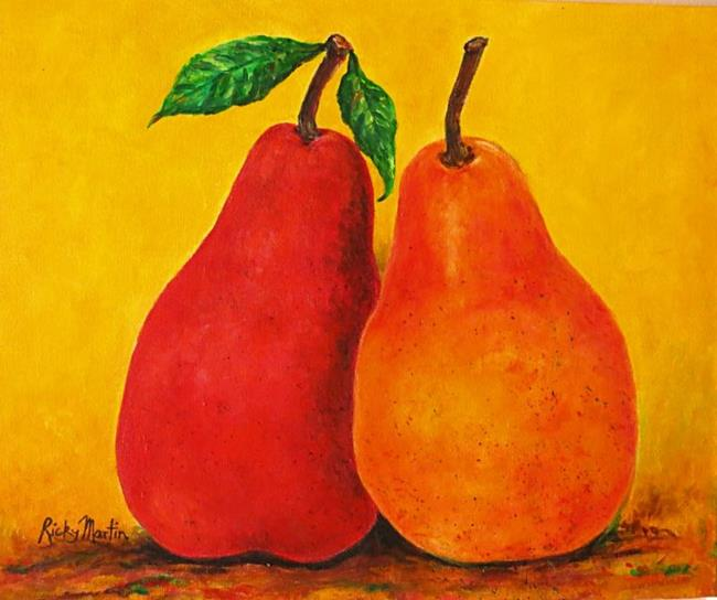 Art: Autumn Pears - sold by Artist Ulrike 'Ricky' Martin
