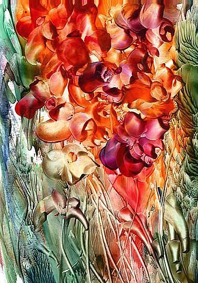 Art: Wildflowers - sold by Artist Ulrike 'Ricky' Martin