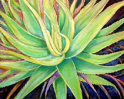 Art: Aloe Vera by Artist Ulrike 'Ricky' Martin