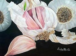 Art: Garlic - NFS by Artist Ulrike 'Ricky' Martin