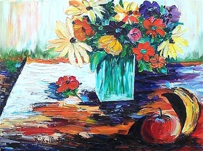 Art: Vivid Still Life - sold by Artist Ulrike 'Ricky' Martin