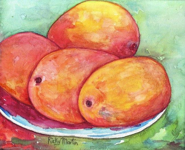 Art: Mango Season( sold ) by Artist Ulrike 'Ricky' Martin