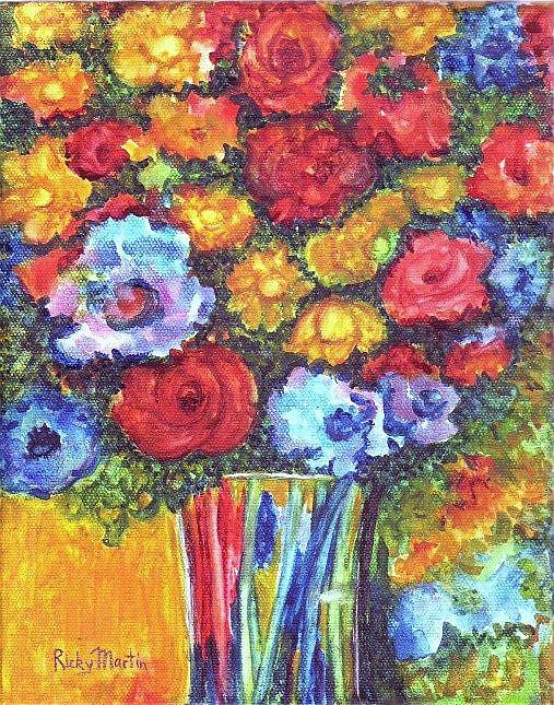 Art: Bouquet by Artist Ulrike 'Ricky' Martin