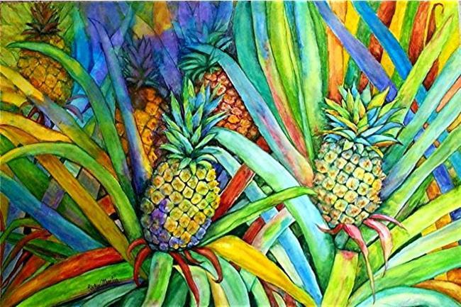Art: Pineapples Ripening - NFS by Artist Ulrike 'Ricky' Martin