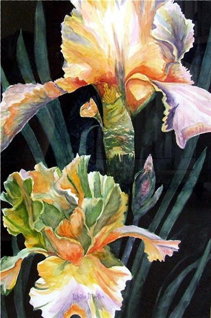 Art: Iris Fantasia by Artist Ulrike 'Ricky' Martin