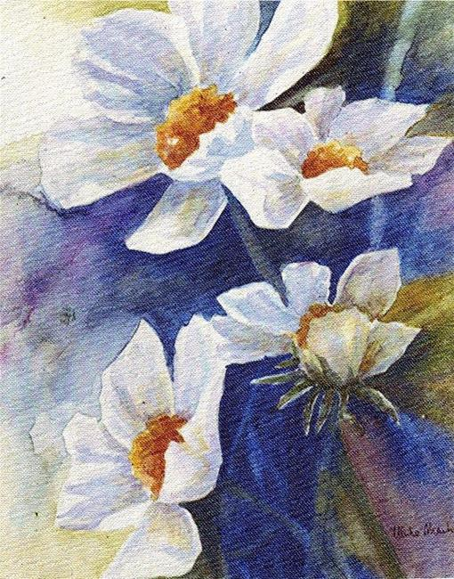 Art: daisies - sold by Artist Ulrike 'Ricky' Martin