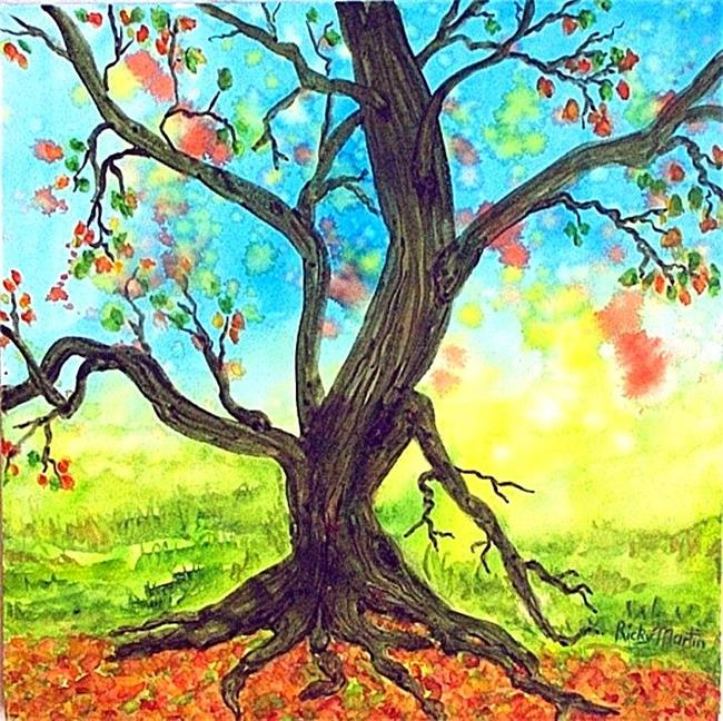 Art: Old Tree by Artist Ulrike 'Ricky' Martin