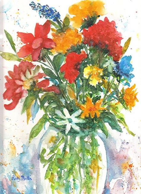 Art: Spring Bouquet - available in my etsy store by Artist Ulrike 'Ricky' Martin