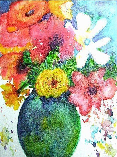 Art: Mixed Bouquet by Artist Ulrike 'Ricky' Martin